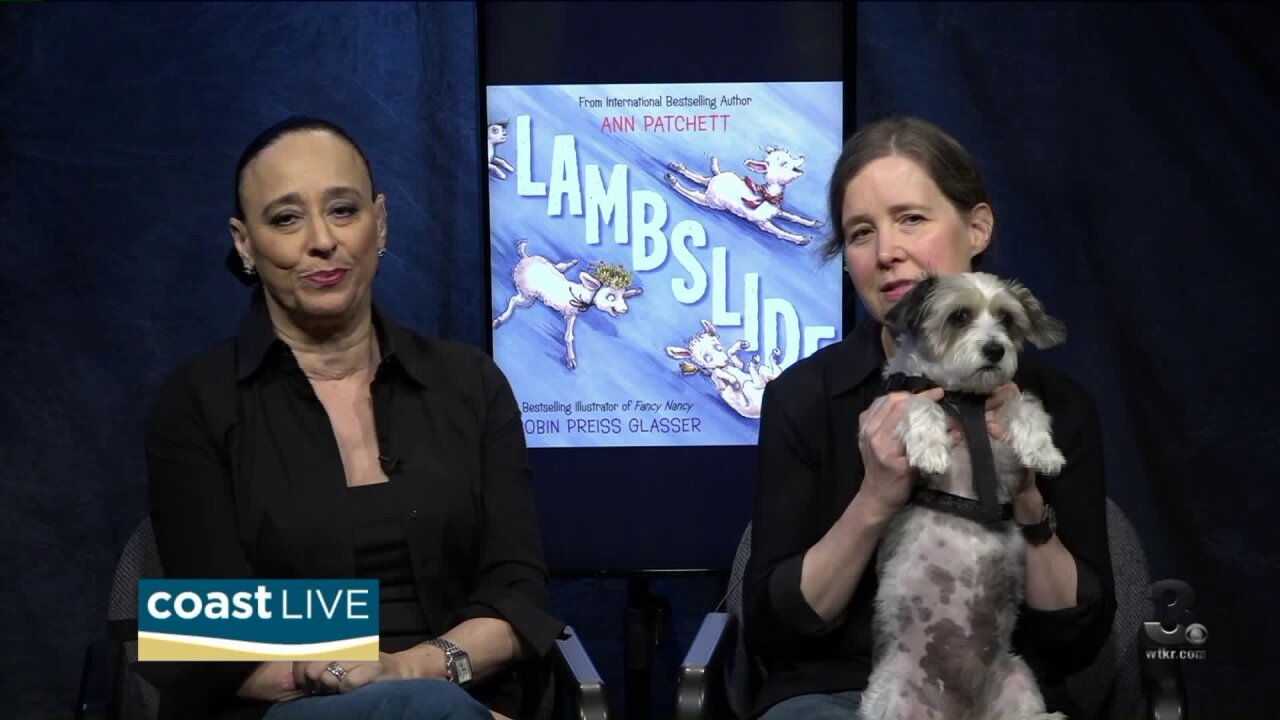 The artists behind the new children's book Lambslide! on CoastLive