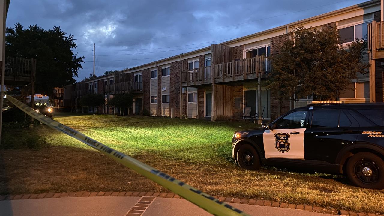 Kalmazoo Township Death Investigation at Lakeview Apartments