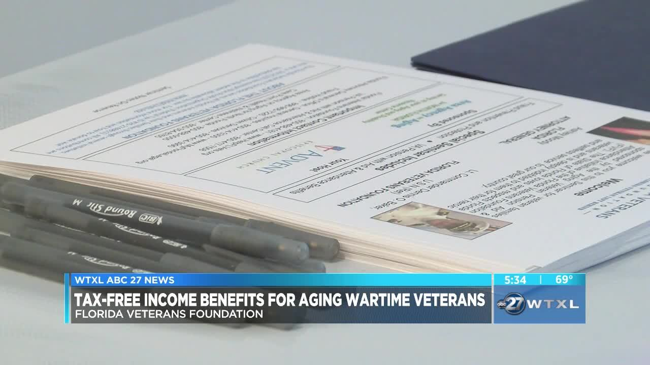 Foundation giving tax-free income benefits to aging wartime