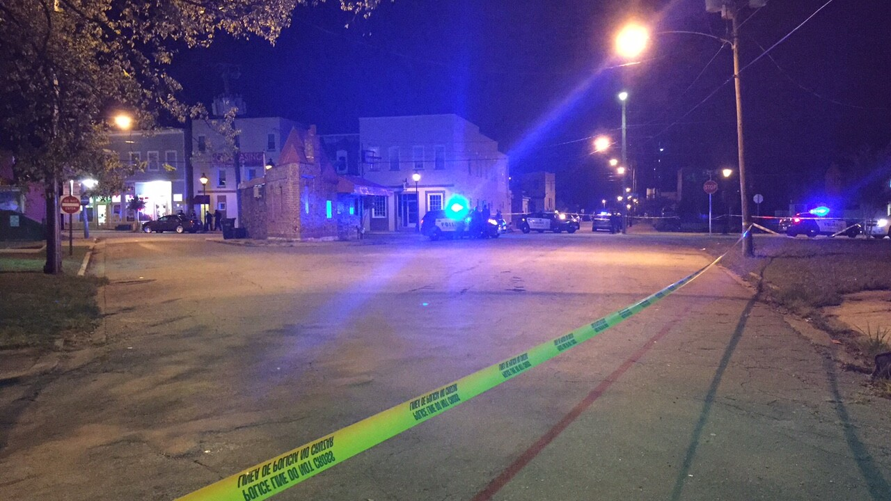 Shooting reported near Church Hill police precinct