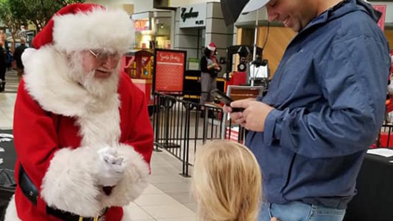 A mall Santa in a town near California wildfire gets heartbreaking requests from kids