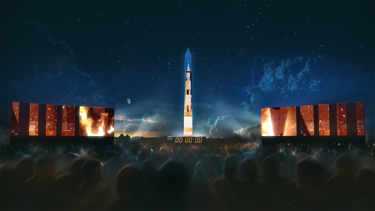 The Washington Monument will blast off in honor of Apollo 11