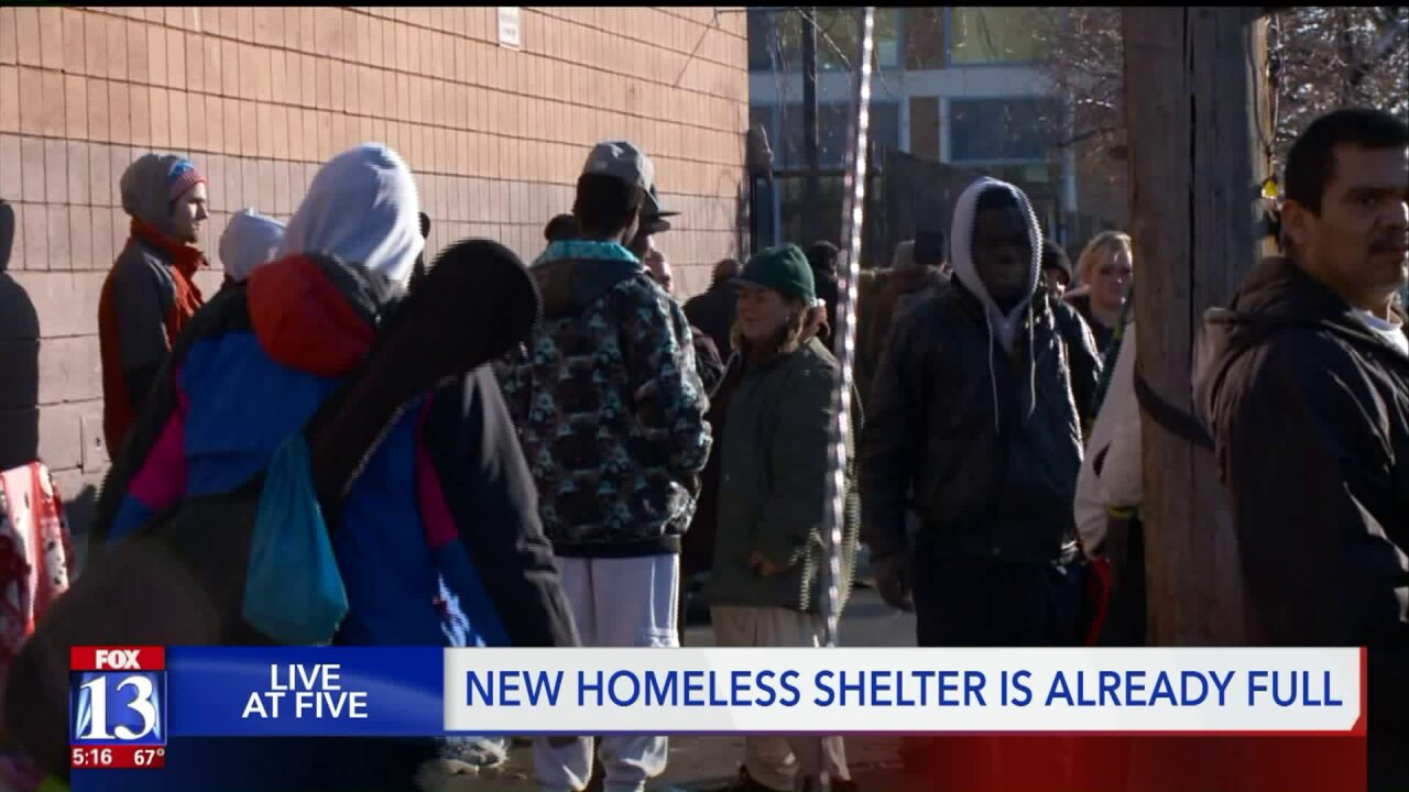 New homeless centers filled to capacity, and that may be a good thing
