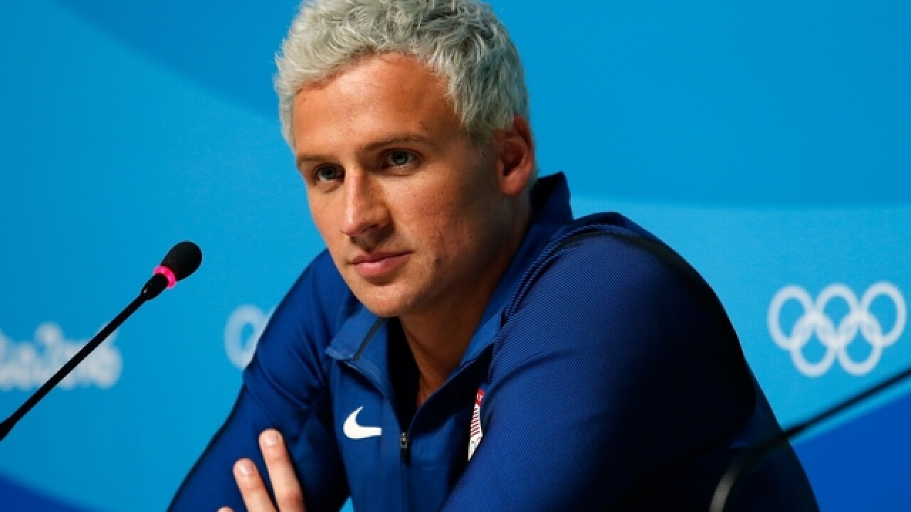 Rio police charge swimmer Ryan Lochte for filing a false robbery report