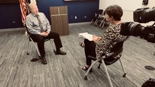 Metro Police Cold Case Detective Mike Roland discusses Velma Tharpe murder case with  Jennifer Kraus