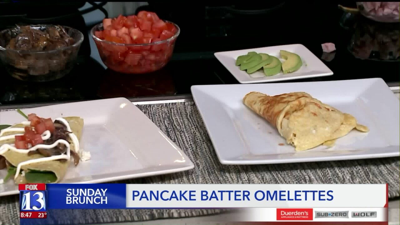Recipe: Pancake Batter Omelets