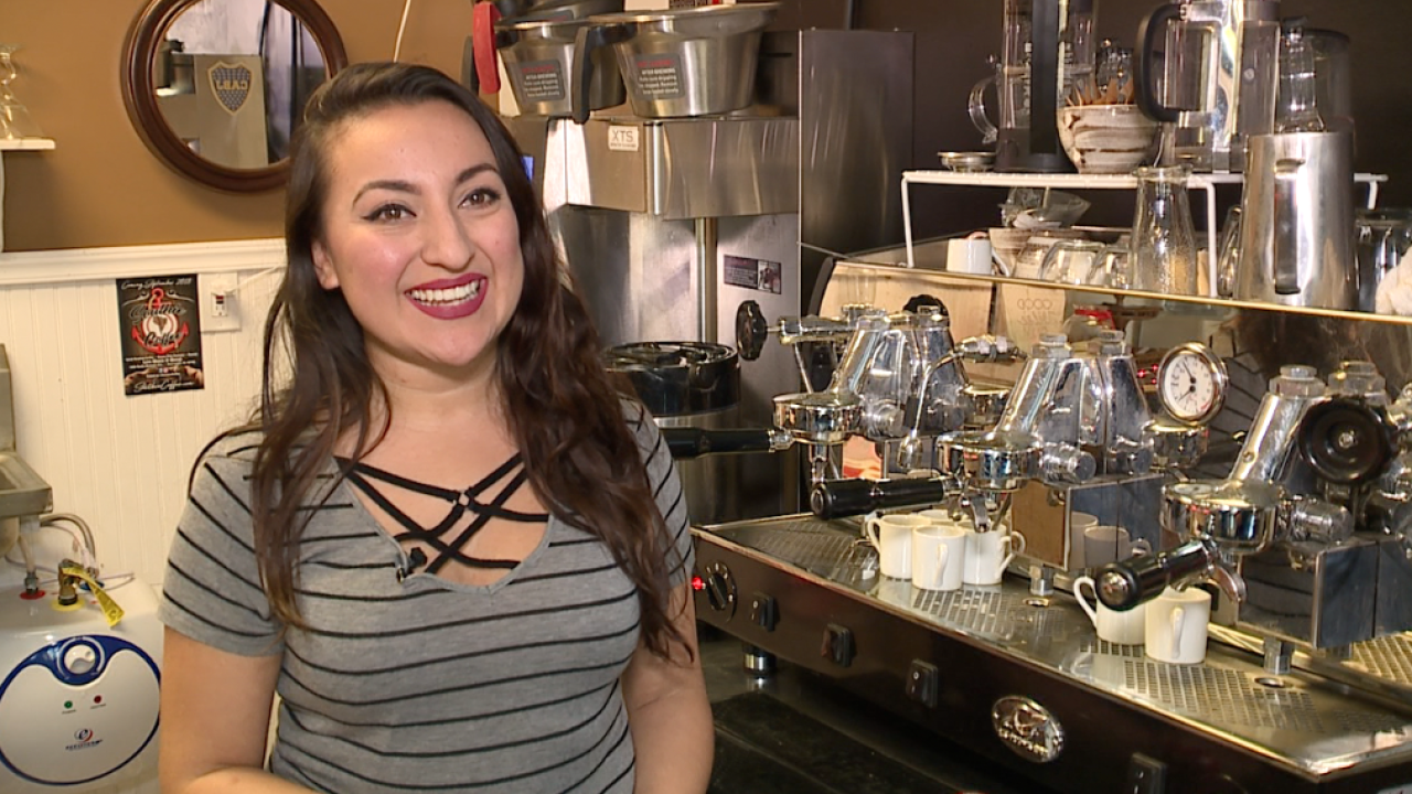 DACA recipient opens coffee shop in Clearwater.