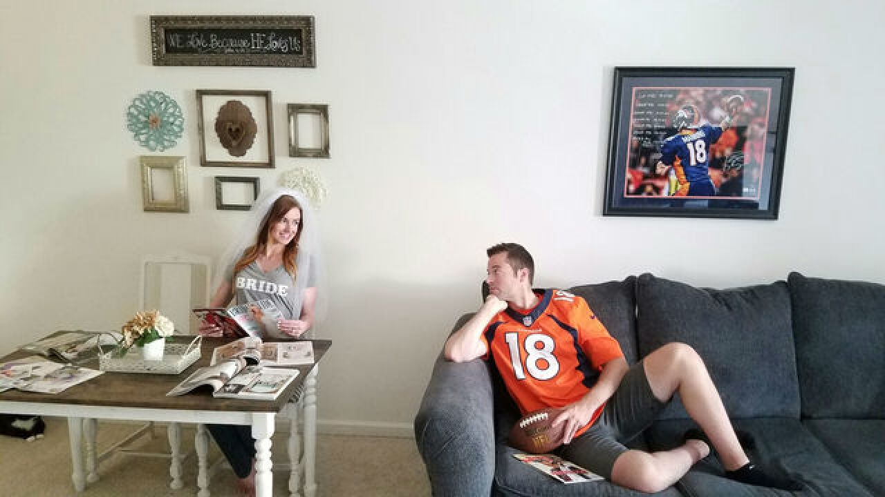 Married couple shares love for Peyton Manning