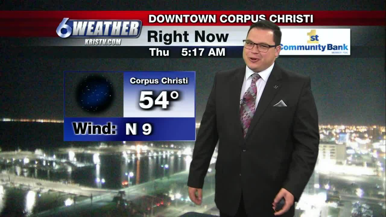 Juan Acuña's weather for March 18, 2021