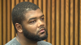 Idris-Farid Clark appears during his arraignment on Friday.
