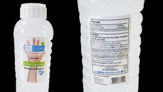 FDA: Nearly 19,000 bottles of hand sanitizer recalled