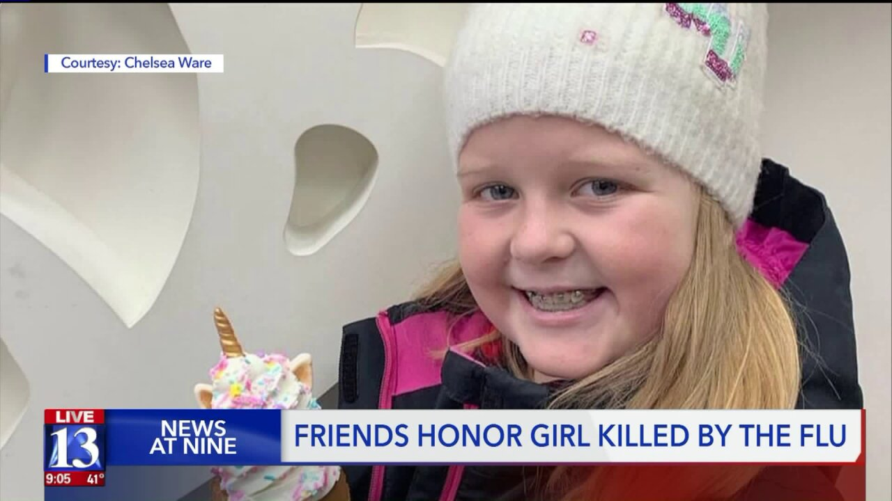 Neighborhood pays respect to Herriman 10-year-old