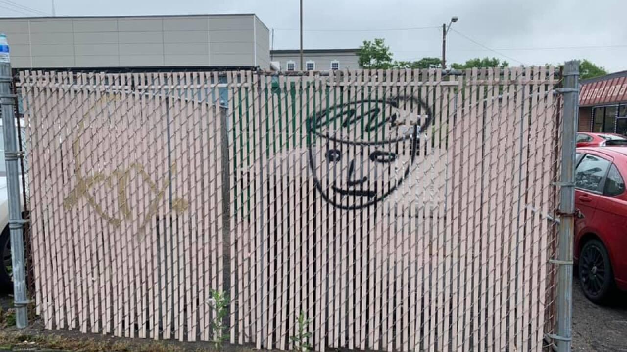 Graffiti at Caliber