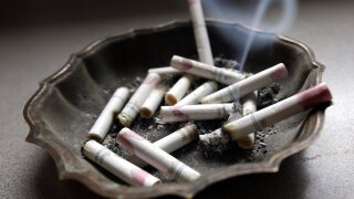Cigarette, Smoke, Ashtray