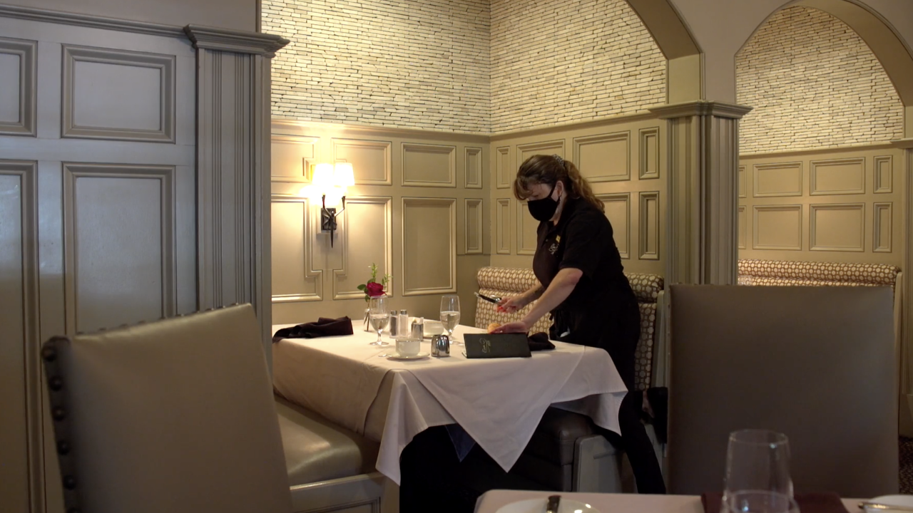 Some places, like restaurants and hotels, have had to limit reservations because they haven't been able to find enough staff to meet the current demand.