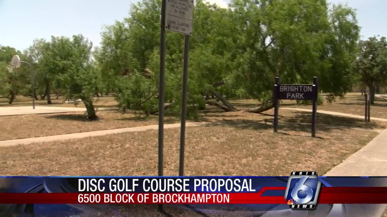 Brighton Park could be home for a new disc golf course