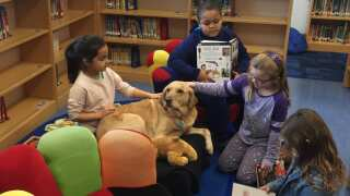Making A Difference: Top Dog Helps Students At Peaks Mill Elementary