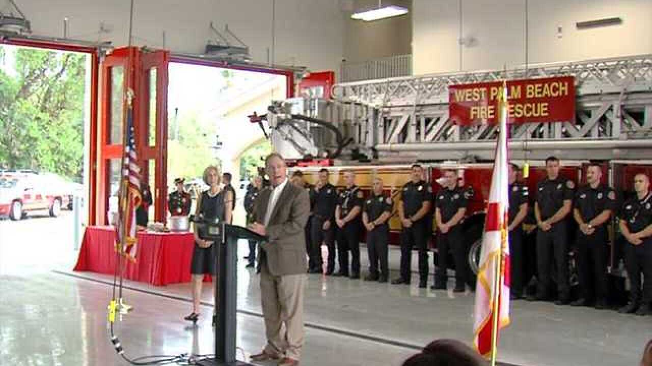 New fire station opens in West Palm Beach