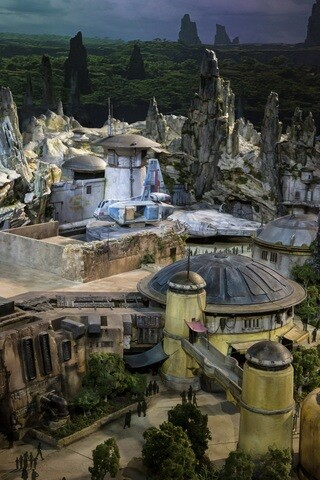 PHOTOS: Disney unveils models of 'Star Wars Land' under construction at Disney's Hollywood Studios
