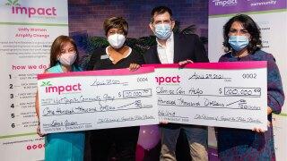 Impact the Palm Beaches grant checks