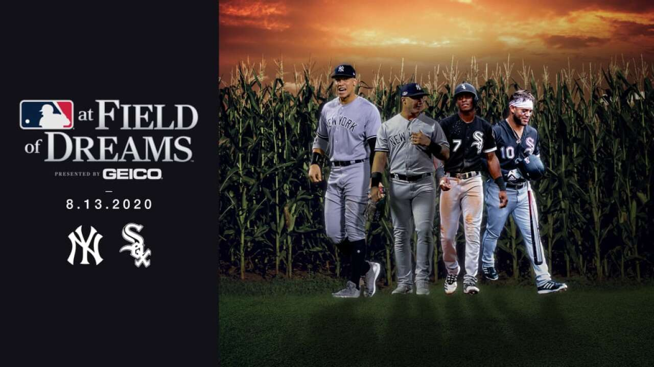Yankees, White Sox to play 2020 MLB game at 'Field of Dreams' site