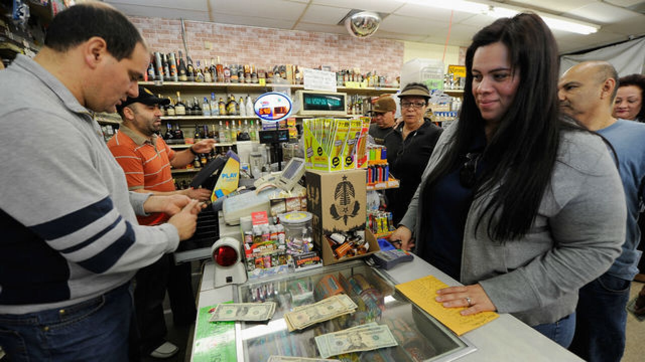 Mega Millions jackpot up to $454 million