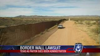 Texas attorney general sues Biden to force border wall construction