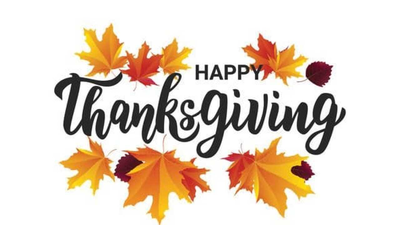 Police and Fire Departments wish everyone a safe and happy Thanksgiving