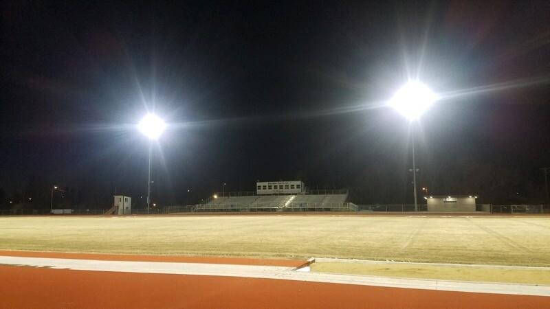 Sidney High School football field