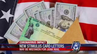 New stimulus card letters