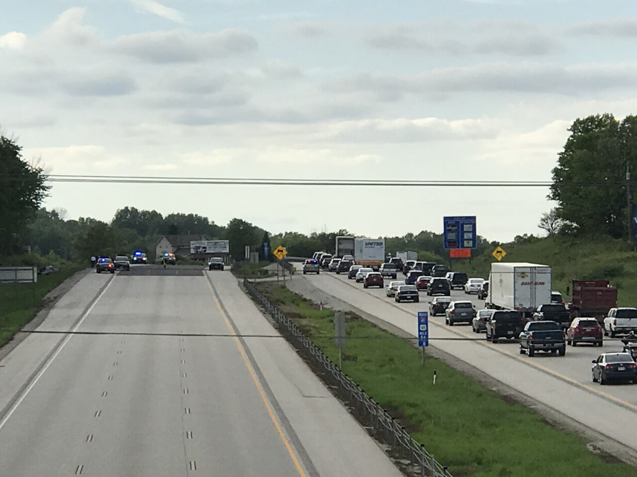 5 brothers hurt in serious crash on I-41 in Germantown
