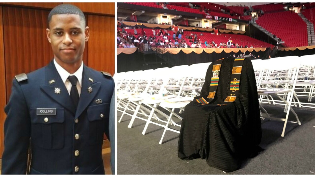 Slain Maryland student honored with degree on graduation day