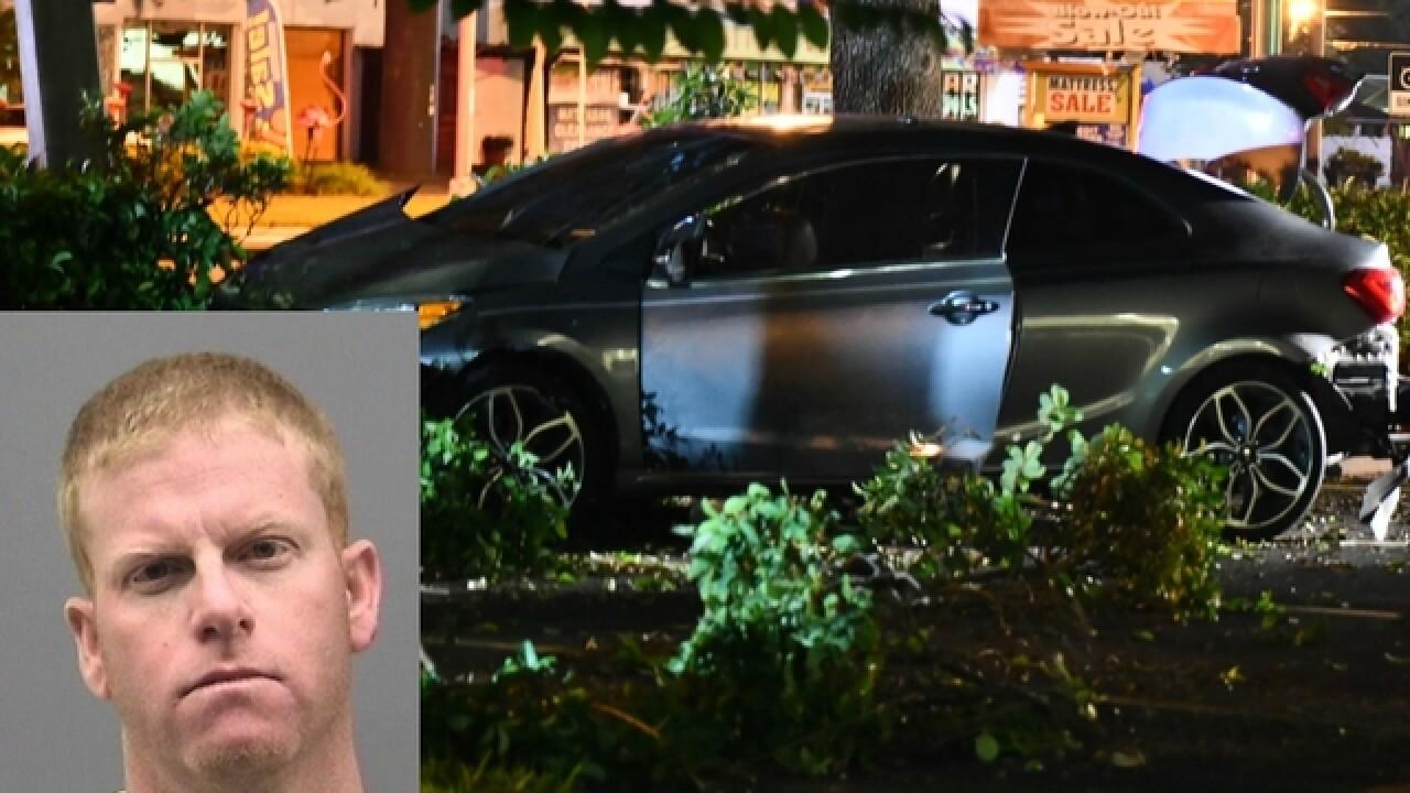 Wanted man drives wrong-way on Dale Mabry Hwy
