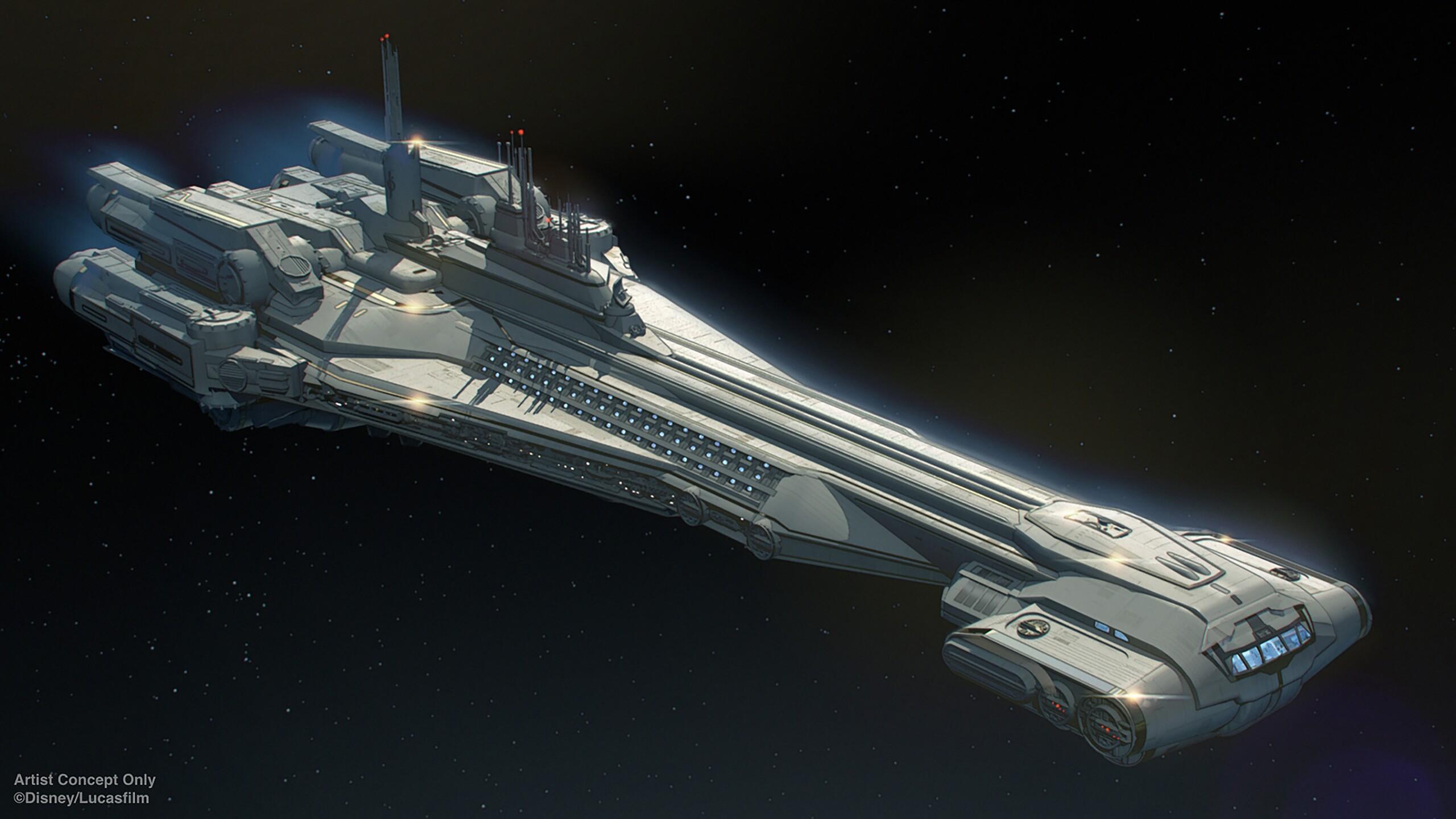 Star Wars: Galactic Starcruiser Ship
