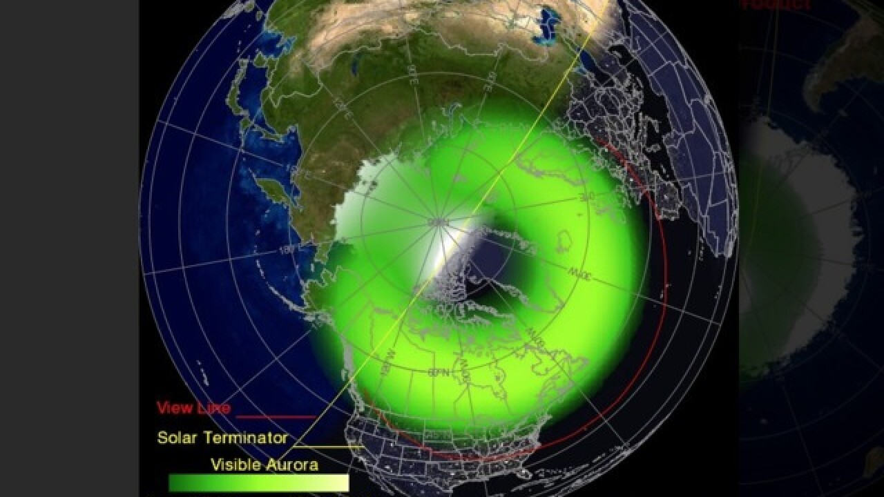 Northern Lights could be seen in MI this week