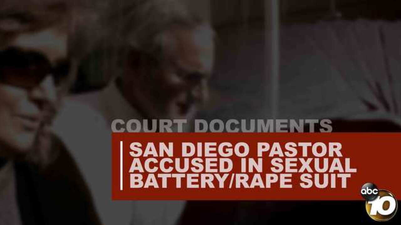 PASTOR ACCUSED IN SEXUAL BATTERY/RAPE SUIT