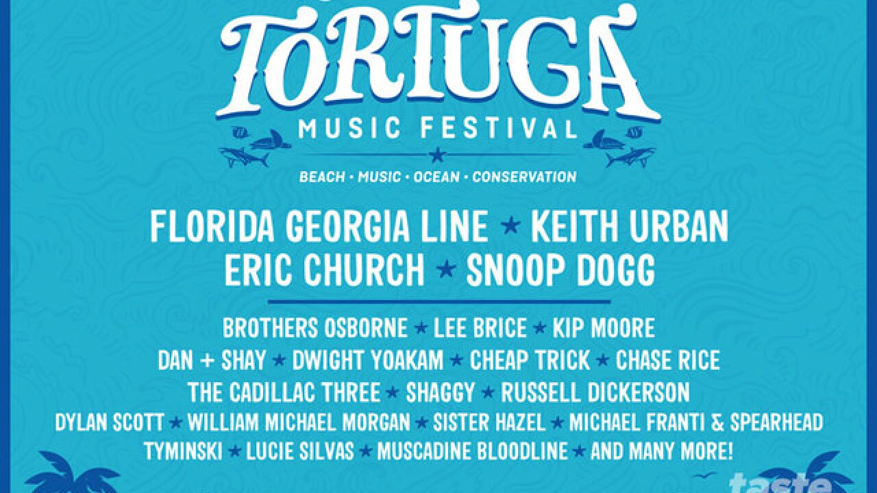How you can win tickets to the Tortuga Music Festival