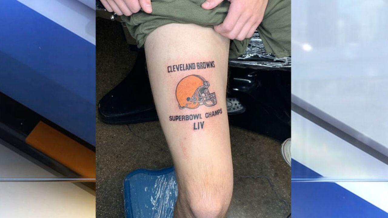 Browns Tattoo