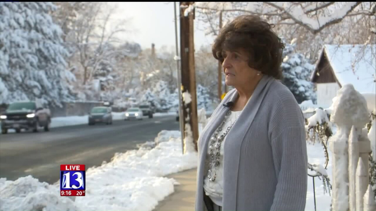 Elderly Utah woman gets snow dumped on driveway, calls 911, gets unexpected response