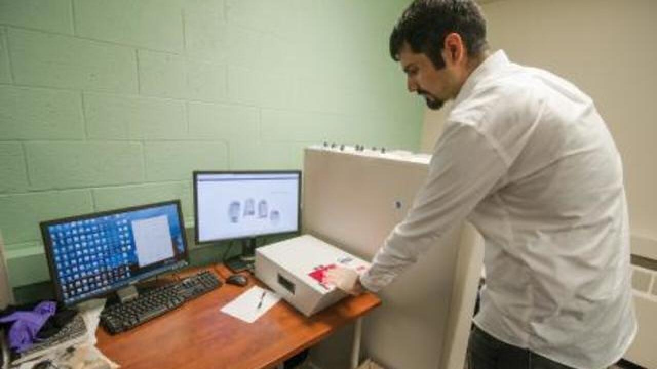 3-D Hands to keep us safe, increase security