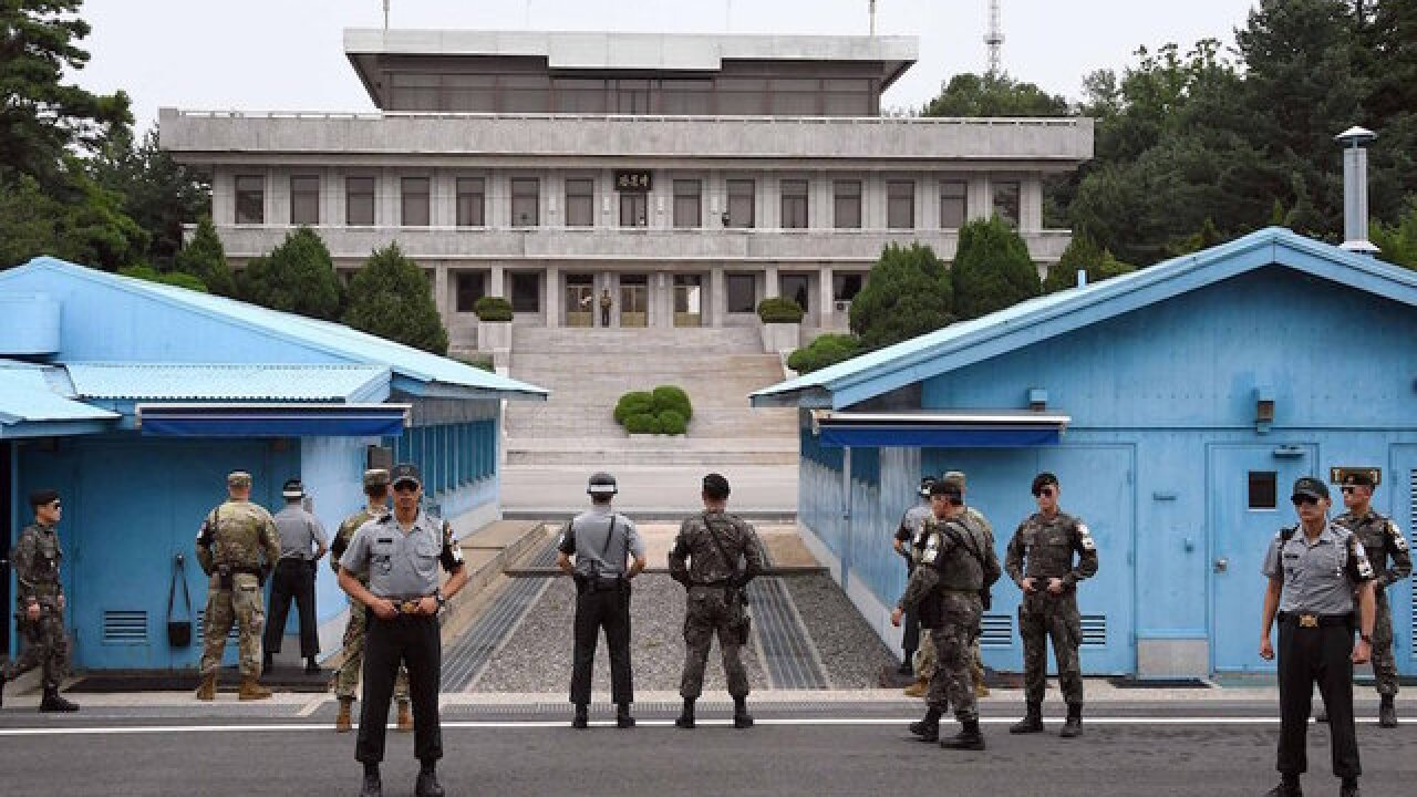 South and North Korean negotiators to meet at DMZ for first time since 2015