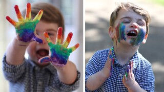 Prince Louis celebrates birthday with colorful COVID-19 message