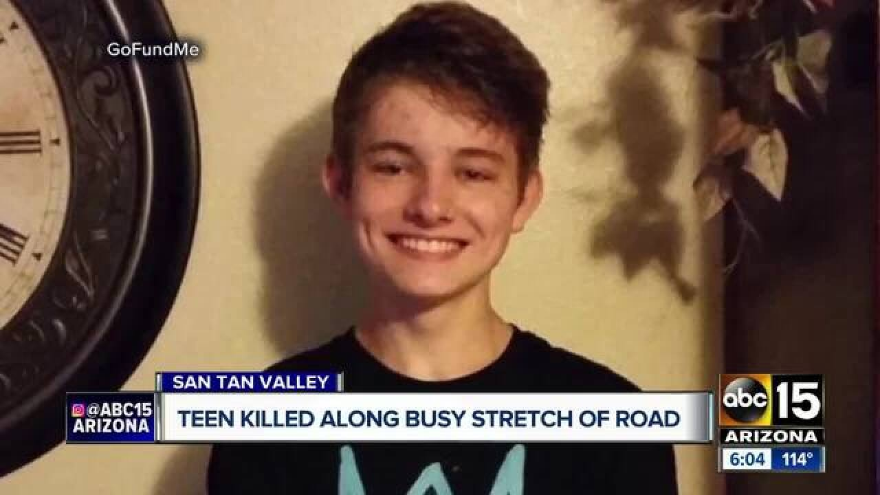 San Tan teen hit and killed riding skateboard