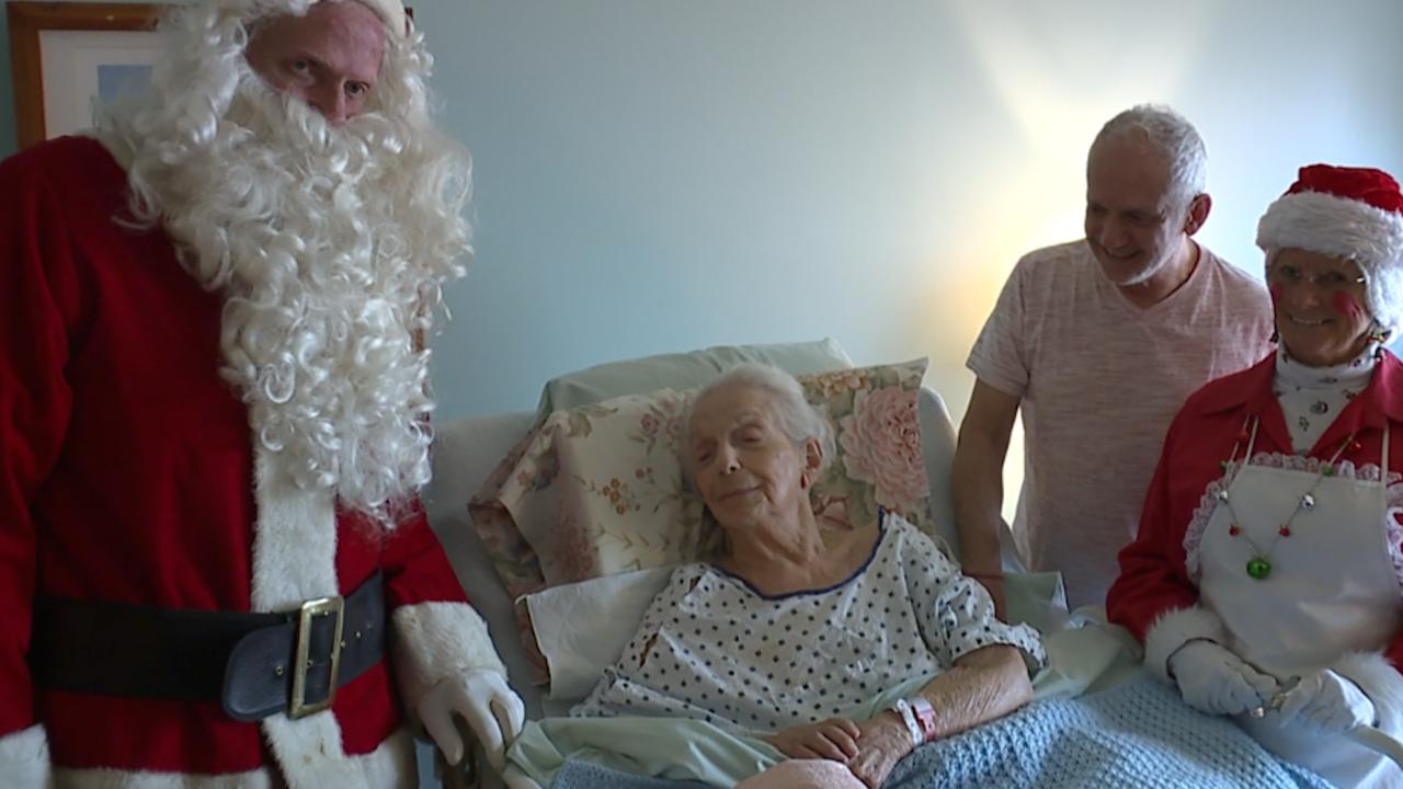 Jindra family Christmas hospice