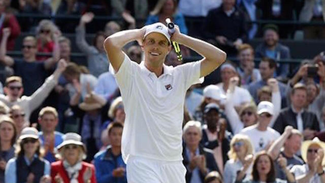 American pulls stunning upset over at Djokovic at Wimbledon