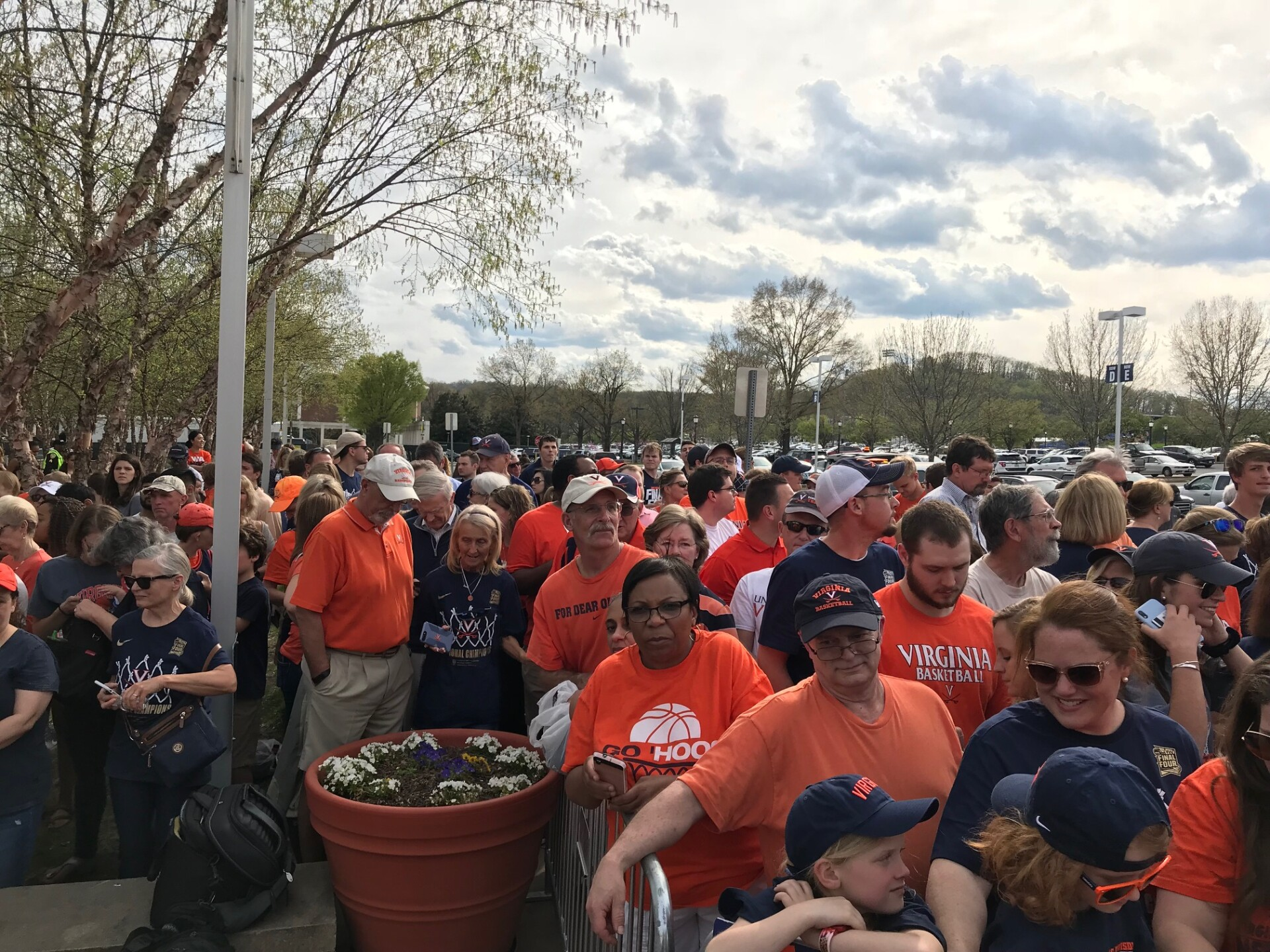 Photos: Making history! UVA fans welcome home their NCAA champions