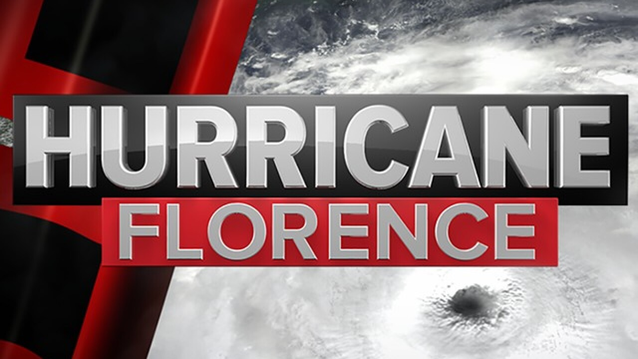 Hurricane Florence downgraded to Tropical Storm