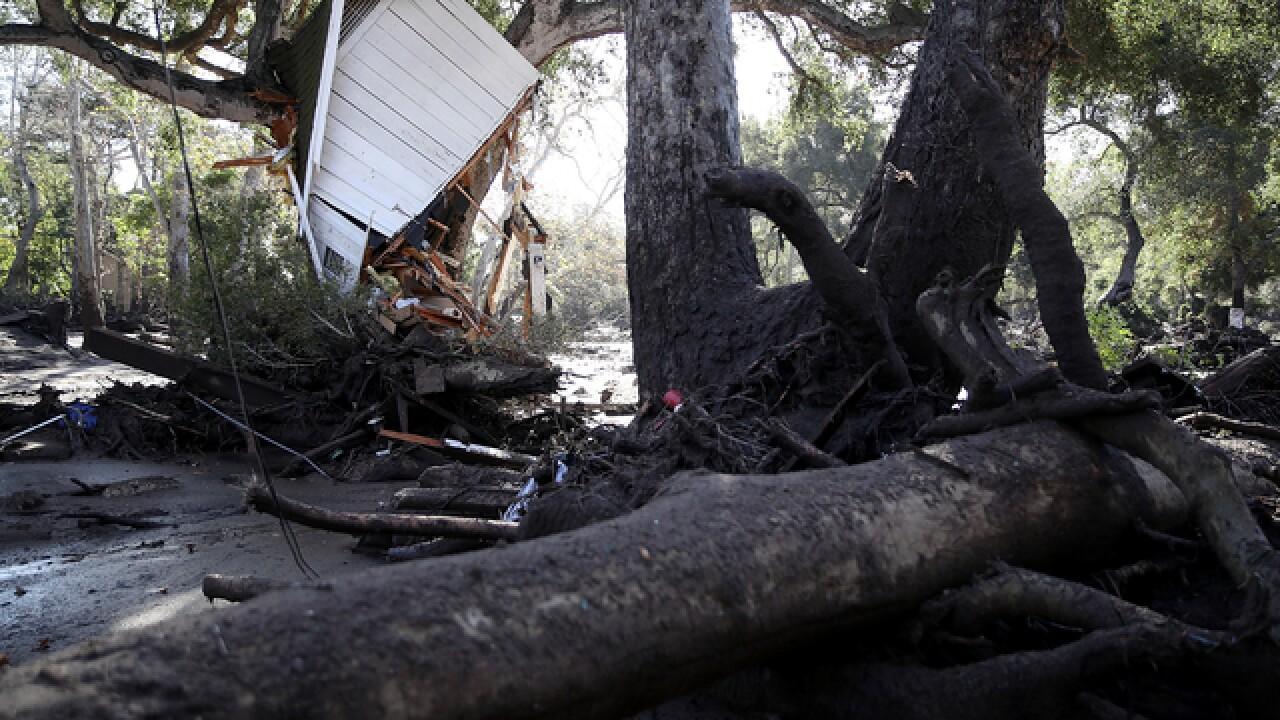 15 dead following mudslides, 24 still missing