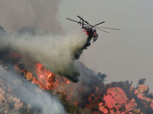 Here's what the wildfires devastation in California looks like