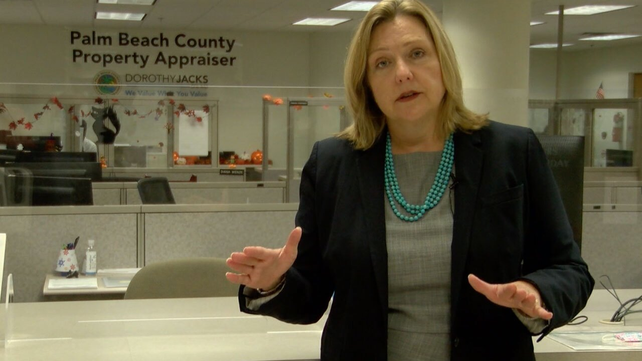 Palm Beach County Property Appraiser Dorothy Jacks explains the current law can be tough financially for spouses of veterans once their loved ones die.